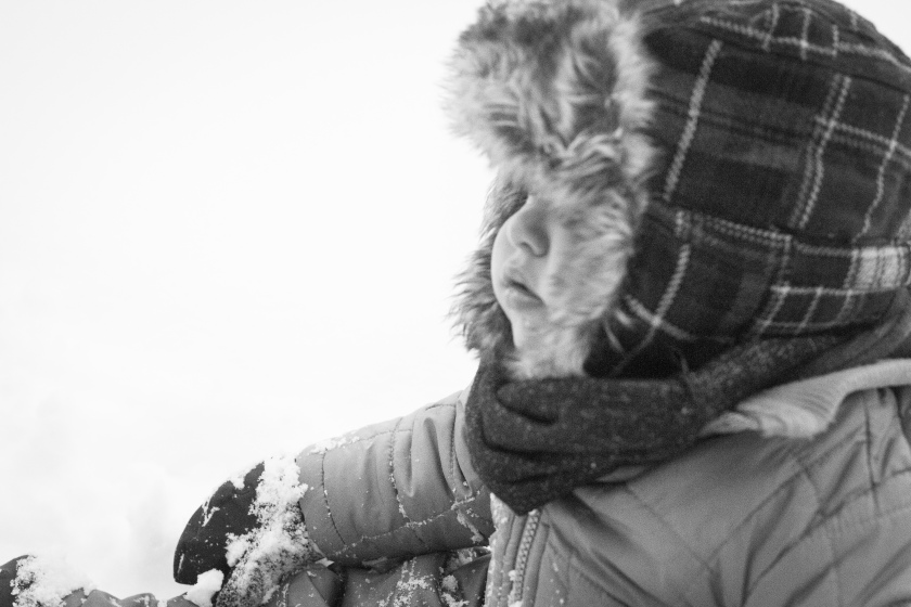 Miles 1st Snow-9487