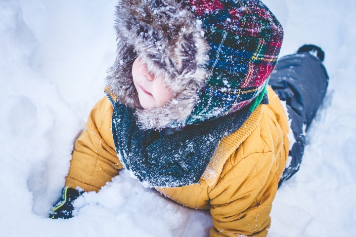 Miles 1st Snow-9528