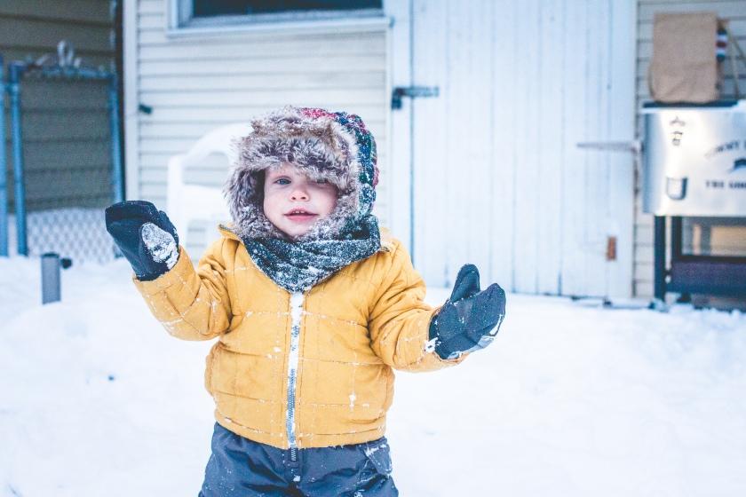 Miles 1st Snow-9532