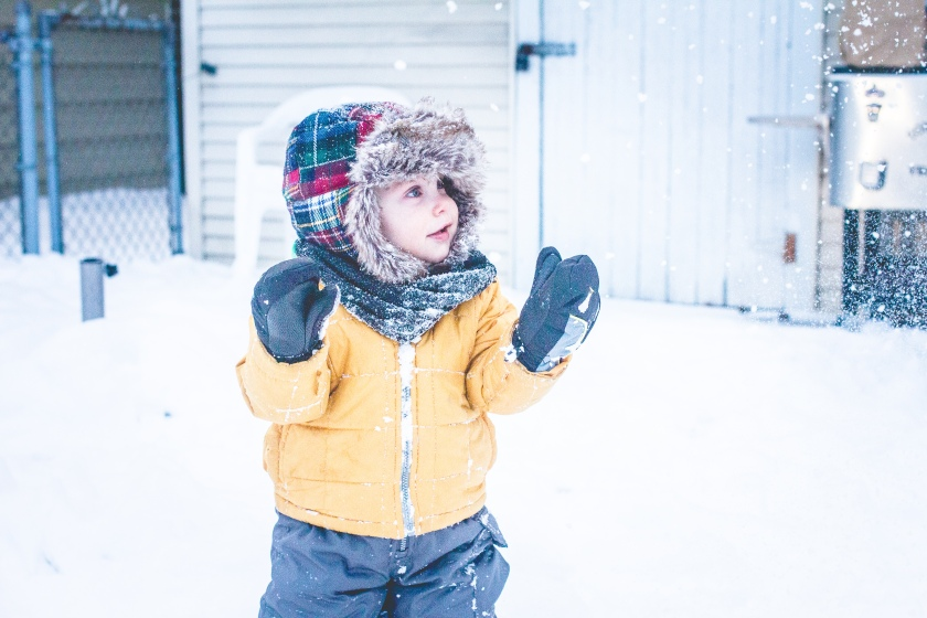 Miles 1st Snow-9549
